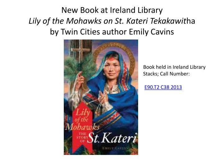 New Book at Ireland Library
