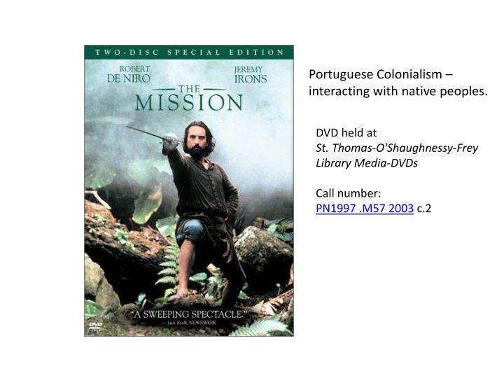 Portuguese Colonialism –
