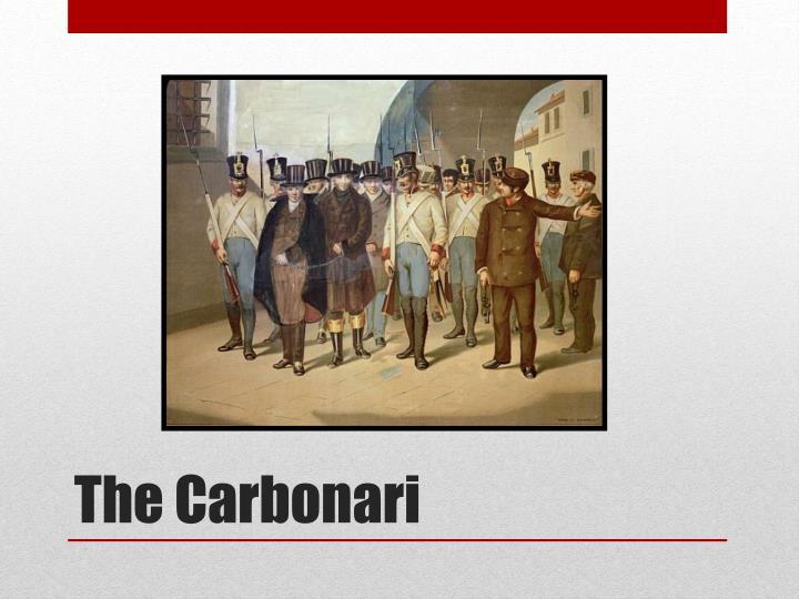 The Carbonari