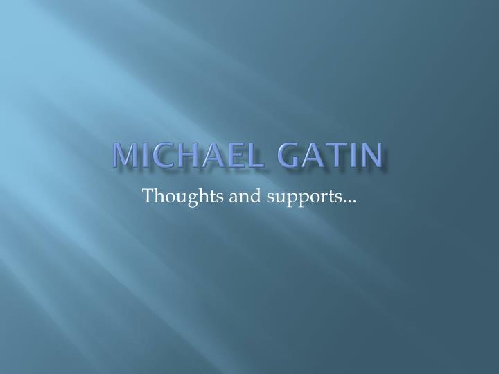 Michael Gatin