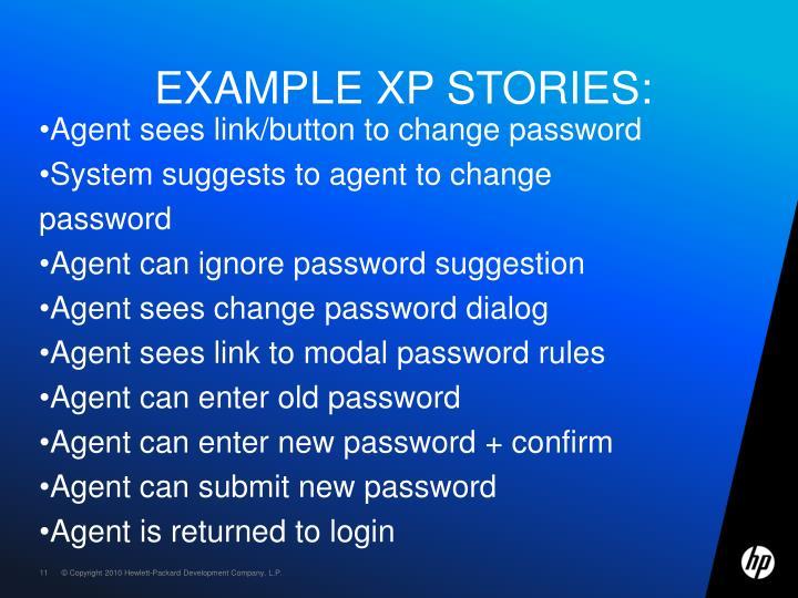 Example XP