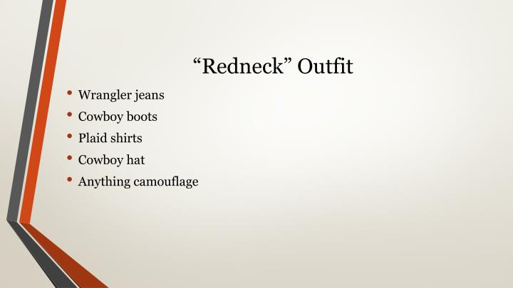 """""""Redneck"""" Outfit"""