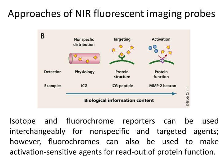Approaches of NIR fluorescent imaging probes