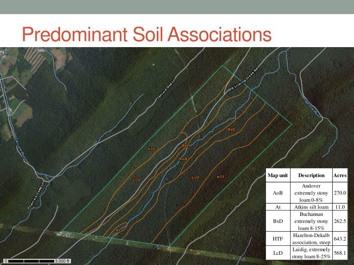 Predominant Soil Associations