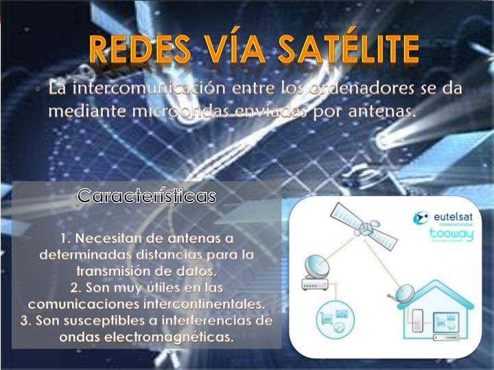 Redes Vía Satélite