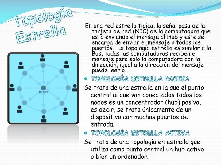 Topología Estrella