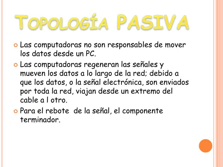 Topología PASIVA