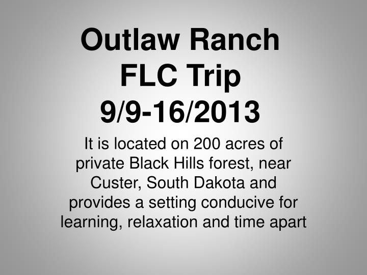 Outlaw Ranch