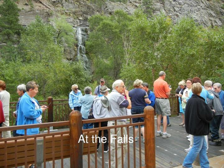 At the Falls