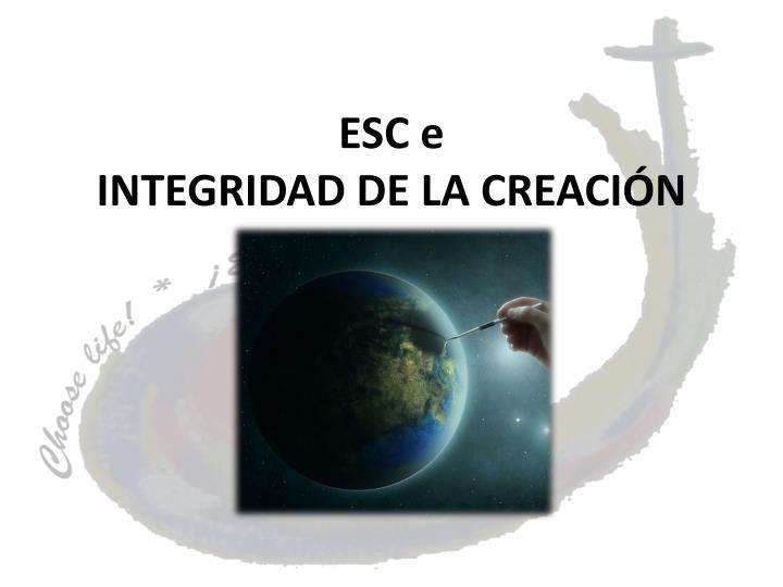ESC e