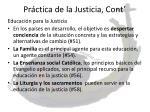 pr ctica de la justicia cont