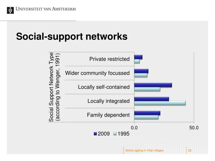 Social-support networks