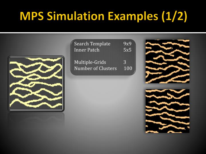 MPS Simulation Examples (1/2)