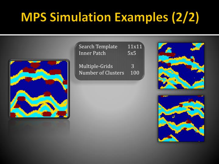 MPS Simulation Examples (2/2)