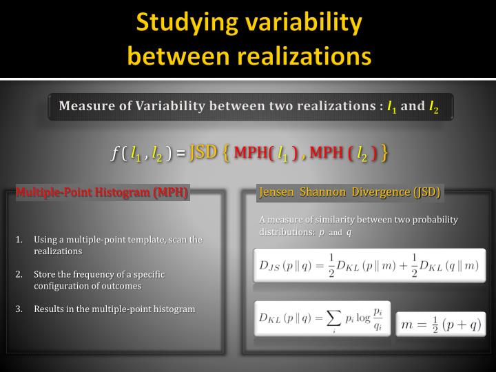 Studying variability
