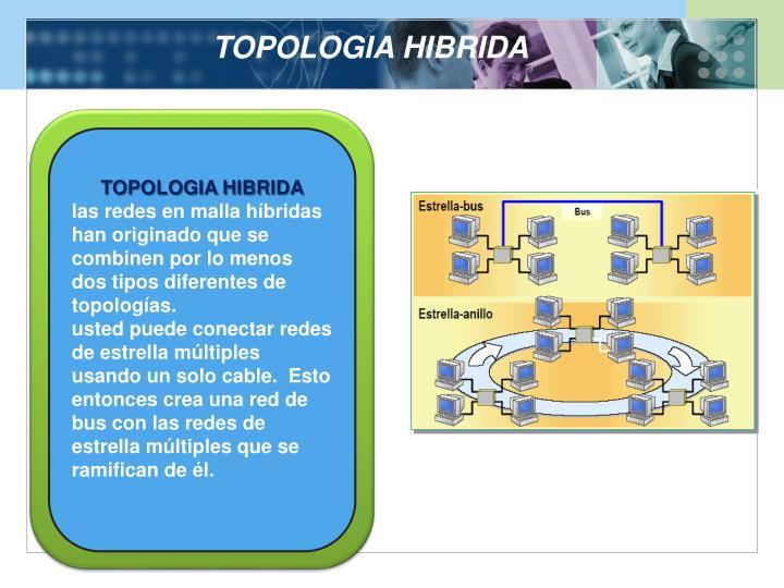 TOPOLOGIA HIBRIDA