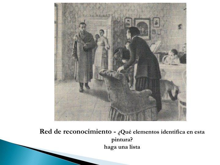 Red de reconocimiento -