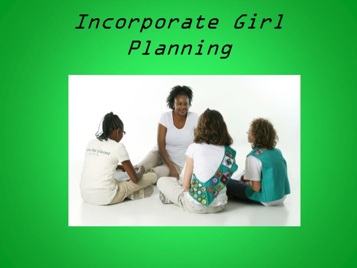 Incorporate Girl Planning