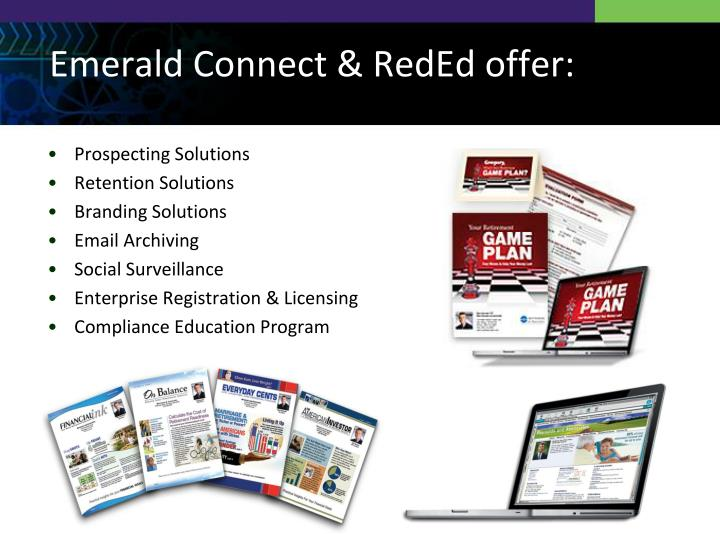 Emerald connect reded offer