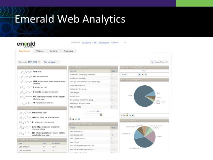 Emerald Web Analytics