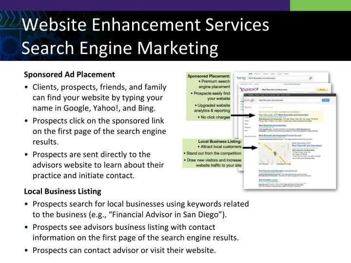 Website Enhancement Services