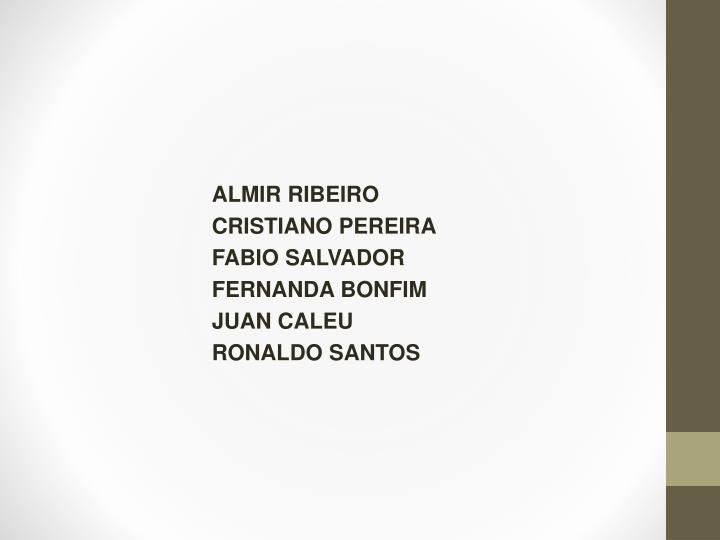 ALMIR RIBEIRO