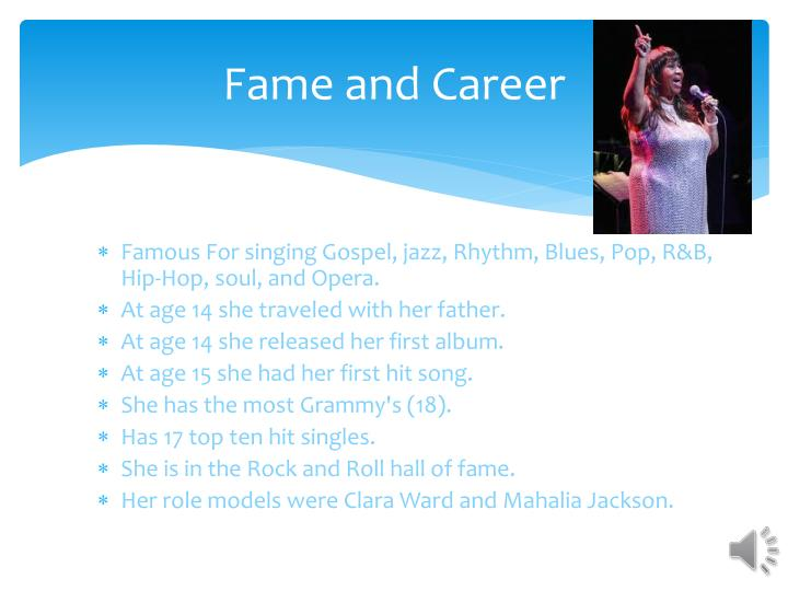 Fame and Career