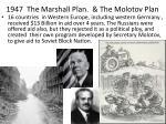 1947 the marshall plan the molotov plan