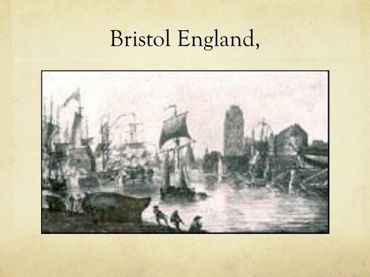 Bristol England,