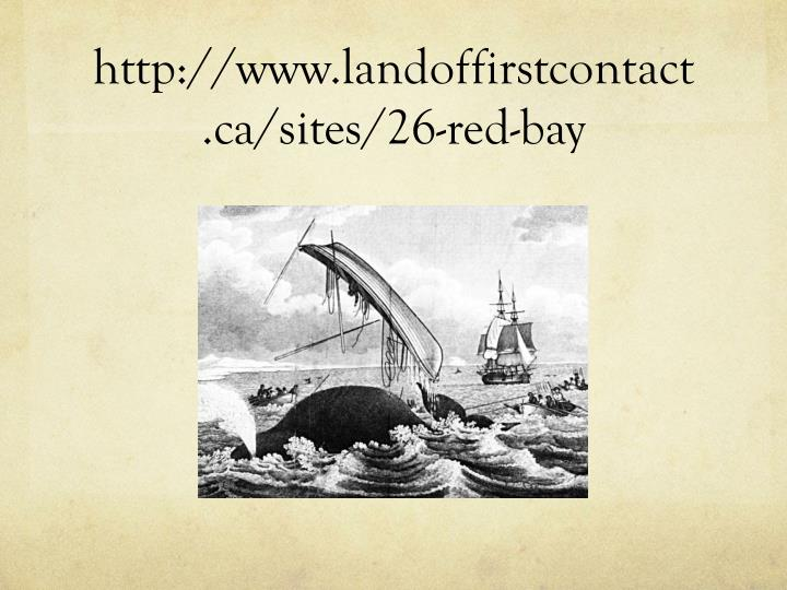 http://www.landoffirstcontact.ca/sites/26-red-bay