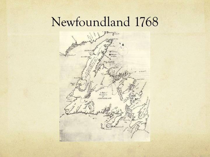 Newfoundland 1768