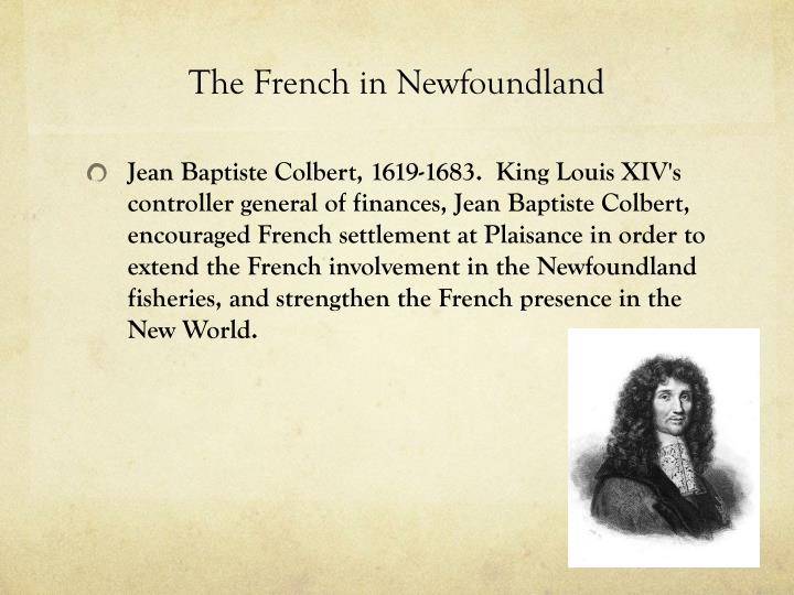 The French in Newfoundland