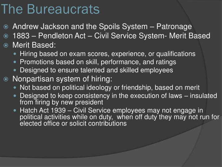 The Bureaucrats