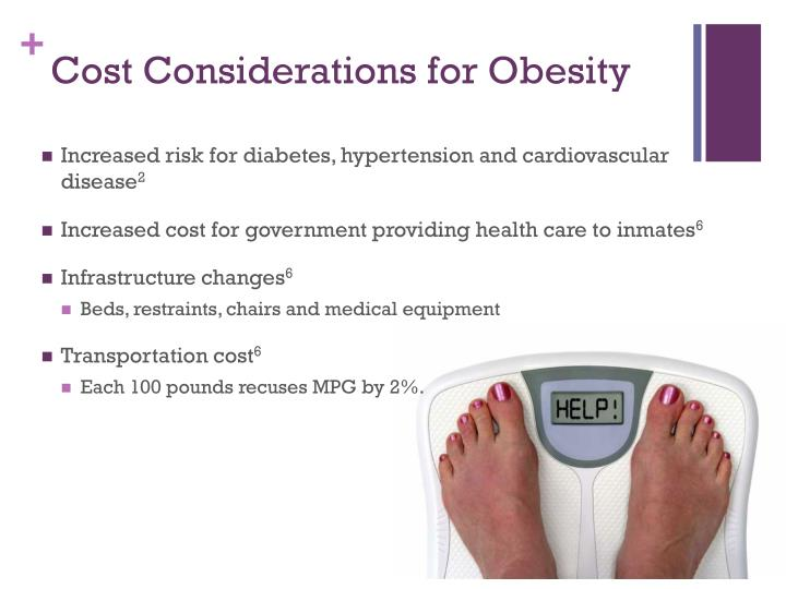 Cost Considerations for Obesity