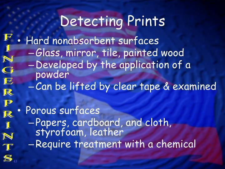 Detecting Prints