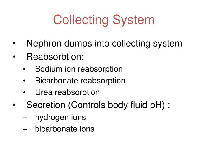Collecting System