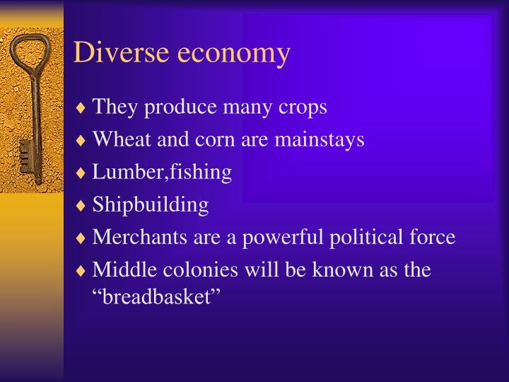 Diverse economy
