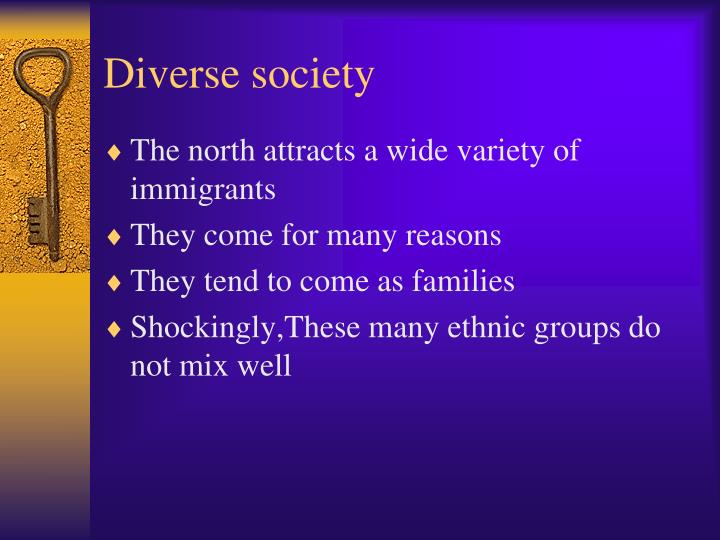 Diverse society