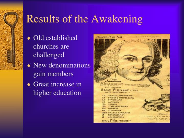 Results of the Awakening