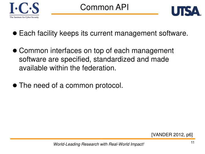 Each facility keeps its current management software.