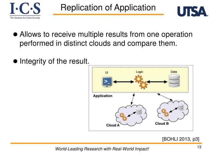 Allows to receive multiple results from one operation performed in distinct clouds and compare them.