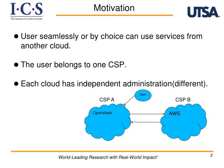 User seamlessly or by choice can use services from another cloud.