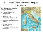 i rome s mediterranean empire 753 b c e 330 c e