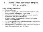 i rome s mediterranean empire 753 b c e 330 c e13