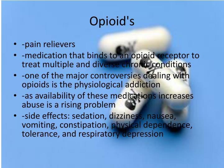 Opioid's