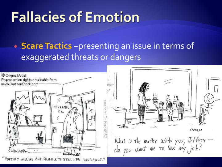 Fallacies of Emotion