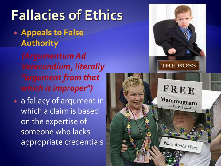 Fallacies of Ethics