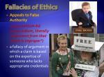 fallacies of ethics