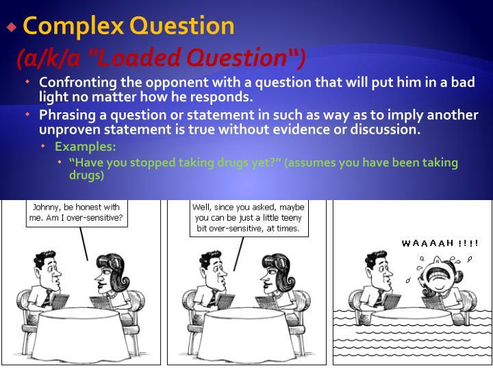 Complex Question
