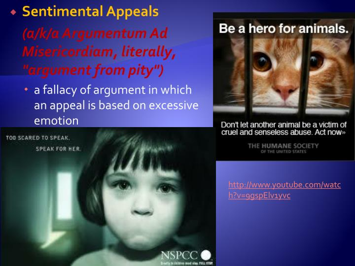 Sentimental Appeals